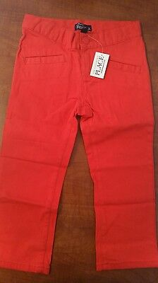 the children's placeValentin's day heart red girl jeggings leggings jeans size 6