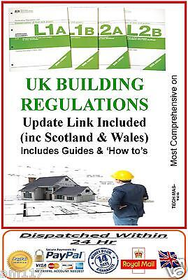 UK Building Regulations  Comprehensive Regs DIY Help Guides  plus Updates Link