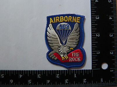 WW 2 ARMY AIR CORP PATCH- ---503rd AIRBORNE--REPRODUCTION