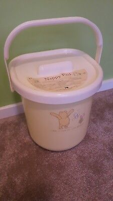 Mothercare Winnie The Pooh Nappy Pail