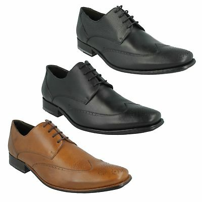Mens Anatomic Co Leather Brogue Lace Up Smart Formal Work Shoes