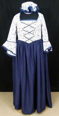 Colonial Style Dress for Women Size 20