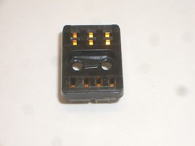 ALLIED CONTROL P&B 27E193 10 PIN DPDT RELAY SOCKET FOR R10-Exx2 SERIES RELAYS