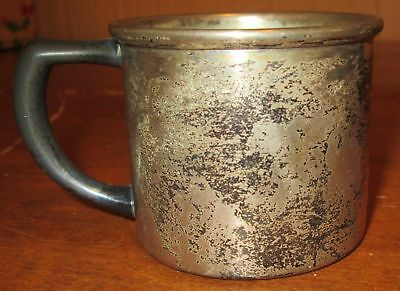 Antique Vintage Baby Childs Benedict 1129 E.P.N.S.B.M.M Silver Plated Mug Cup