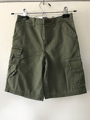 Boys Polo By Ralph Lauren Cargo Shorts Sz 7 NWOT Olive Drab
