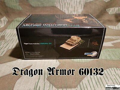#124 Dragon Armor 60132 Tiger I Late Production w/Zimmerit, s.Pz.Abt.101  1:72