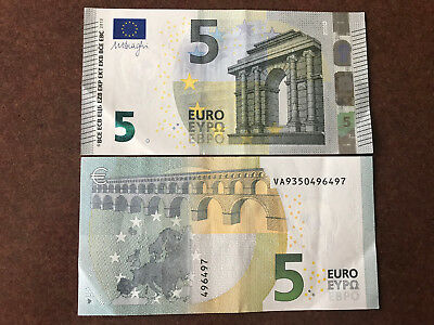 1x €5 EURO (REAL CURRENCY FOR YOUR TRAVEL) EUROPEAN UNION MONEY TO SPEND