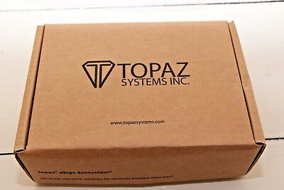 TOPAZ SYSTEMS INC Model T-LBK462-BSB-R ELECTRONIC SIGNATURE BRAND NEW!