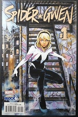 Spider-Gwen Annual #1 Comic Block Variant Marvel NM