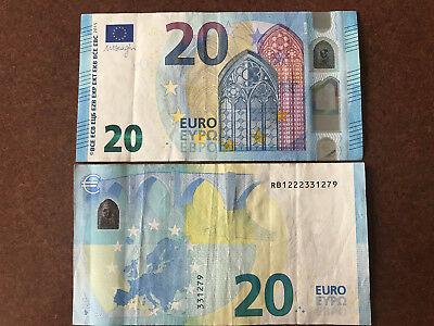 1x €20 EURO (REAL CURRENCY FOR YOUR TRAVEL) EUROPEAN UNION MONEY TO SPEND