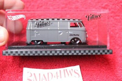 2017 Hot Wheels illest Fatlace 1964 Volkswagen T1 Panel Bus w/CASE and BOX