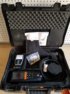 Used Testo 320 Combustion Analzyer with Printer & Smoke Pump! Works GREAT!