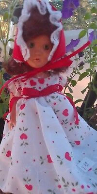 Vintage  All Plastic Doll 1950,s 8 Inch