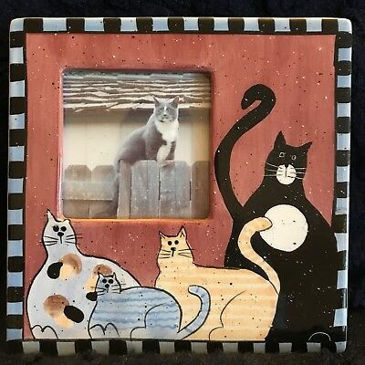 Multi Cat Picture Frame