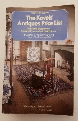Kovels' Antiques & Collectibles Price Guide 13th edition '80-81 Market paperback