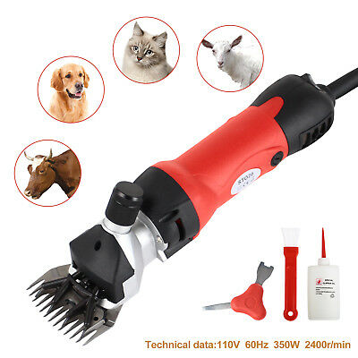 350W Electric Sheep Goat Shears Clippers Animal Shave Grooming Farm Livestock