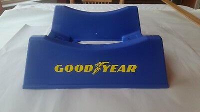Goodyear Tire and Rubber Company Tire Stand Advertising