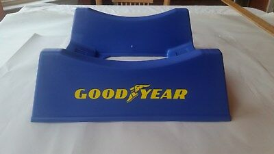 Vintage Goodyear Tires Stand Rack Display Car Auto Gas Station Service 1980s