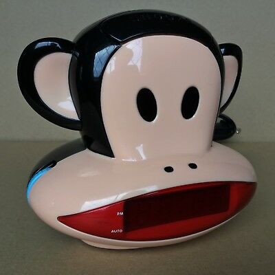 2011 Paul Frank Julius The Monkey Projection Clock Radio