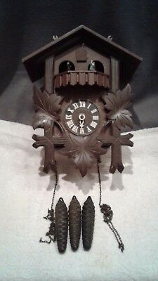 Bachmaier & Klemmer Thorens musical dancers Cuckoo Clock parts repair w. germany