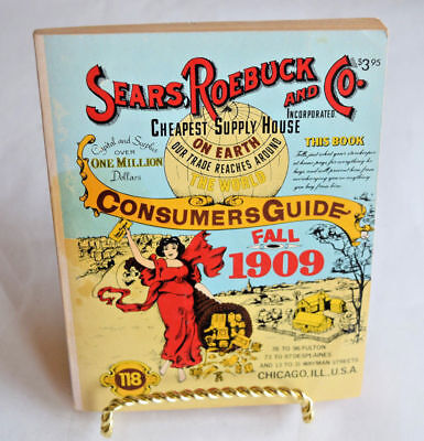 1979 reproduction Fall 1909 Sears Roebuck and CO. Consumers Guide, Sears Catalog