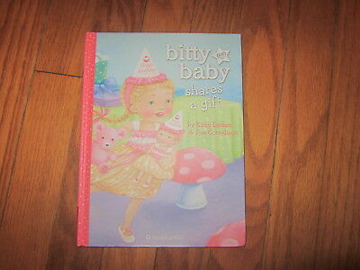 American Girl BITTY BABY Shares a Gift Hardcover EUC