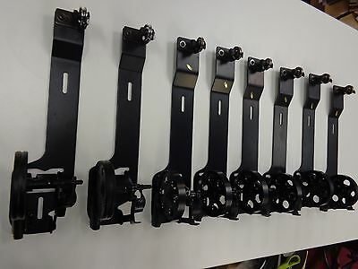"""Lot of 8 Large Industrial Commercial Sewing Machine Bobbin Rewinders 3"""" wheel"""