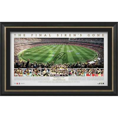 Richmond Tigers 2017 Premiership Panoramic Signed and Framed Lithograph