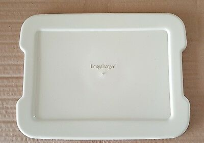 Longaberger Lid Only for the Small Serving Protector, EUC