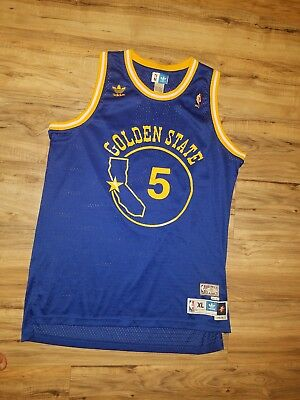 41161ca7 BARON DAVIS B Diddy Hwc NBA Jersey Men XL Golden State Warriors #5 ...