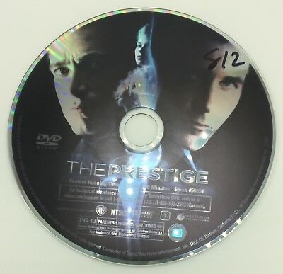 The Prestige DVD DISC ONLY First Class Shipping