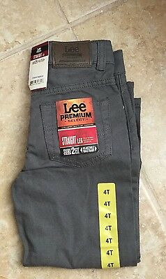 Lee Premium Select Kids Jeans - Straight Leg - Size 4T