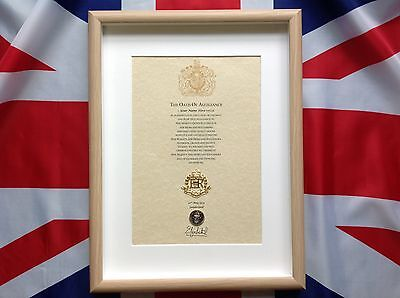 Royal Military Police Oath Of Allegiance RMP Cap Badge And Sovereign's Shilling