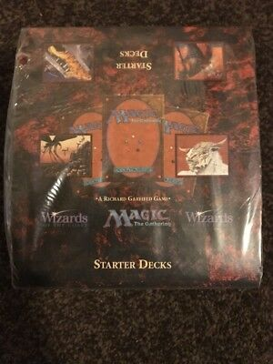 Magic The Gathering- Fourth Edition Starter Deck Box (10 Decks)- Sealed and Rare
