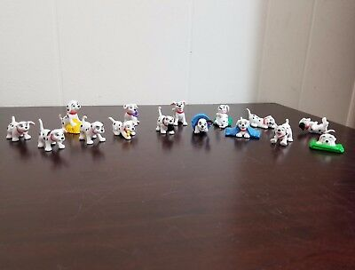 Disney 101 Dalmatians Collector's Items PVC Figures Toys Cake Toppers Set of 15