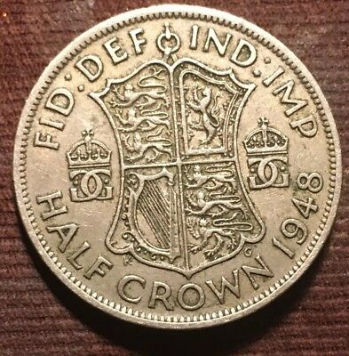 1948 Great Britain 1/2 Crown