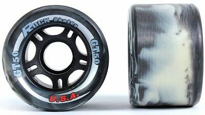 Sure-Grip Rock GT-50 95A Indoor Swirl Wheels Derby Speed (Set of 8)