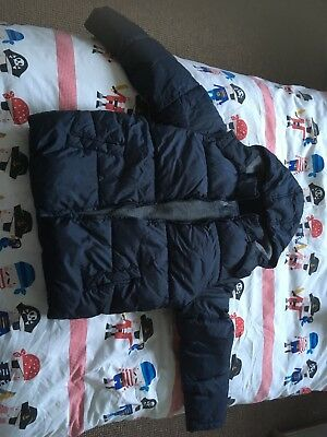 boys padded coat age 11-12