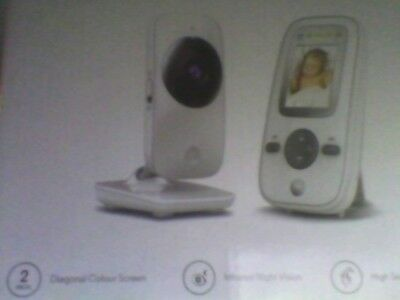 "Motorola MBP481 Digital Video Baby Monitor - 2."" Colour LCD Display new sealed"
