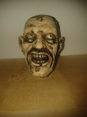 ZOMBIE HEAD  2/WALKING STICK HANDLE/cane/ZOMBIE /HALLOWEEN