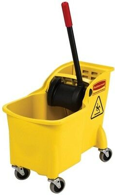 Rubbermaid Commercial Products 7.75 Gal Tandem Mop Bucket