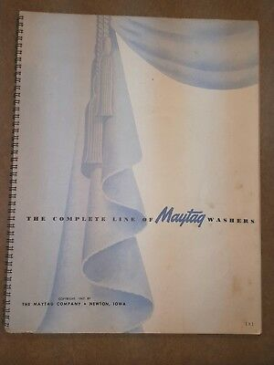 Antique Maytag Washers Booklet