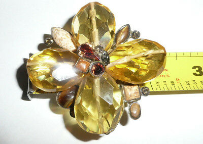 Vintage SORRELLI PIN BROOCH OR PENDANT AMAZING
