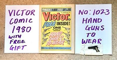 Victor Comic With Free Gift/ 1980
