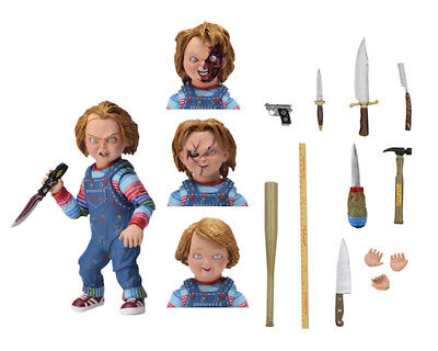 Chucky 1 & 2 - CHUCKY 7-inch Scale  ULTIMATE Actionfigur - OVP NECA