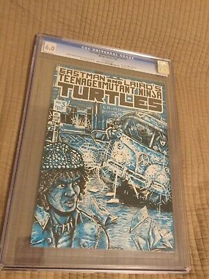 1985 Mirage Studios Teenage Mutant Ninja Turtles #3 Cgc 6.0