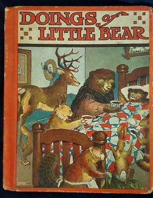 DOINGS OF LITTLE BEAR by Frances Fox -  Warner Carr illustrations ©1935