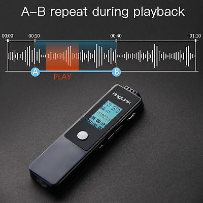 Digital Voice Recorder Anglink 8GB Sound Audio Recorder Voice Activated Recorder