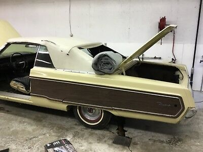 1968 Chrysler Newport convertible. 1 of 175 manufactured with Sportgrain