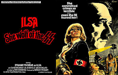 ISLA the she wolf of the SS war movie film classic horror T Shirt Men's